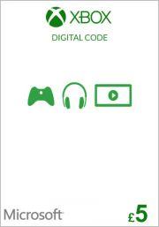 UK Xbox 5 Punta Lahjakortti