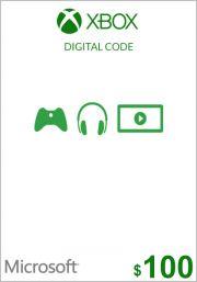 USA Xbox 100 Dollari Lahjakortti
