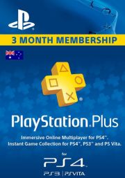 Australia PlayStation Plus 90 päivää