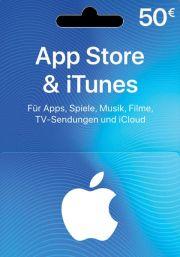 iTunes Saksa 50 EUR Lahjakortti