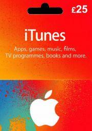iTunes UK 25 GBP Lahjakortti