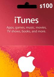 iTunes USA $100 Lahjakortti