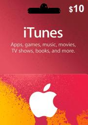 iTunes USA $10 Lahjakortti
