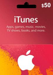 iTunes USA $50 Lahjakortti