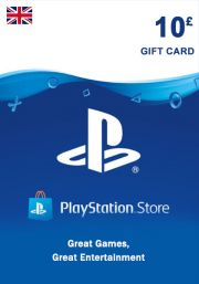 UK PSN 10 GBP Lahjakortti