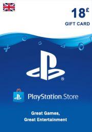 UK PSN 18 GBP Lahjakortti