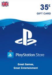 UK PSN 35 GBP Lahjakortti