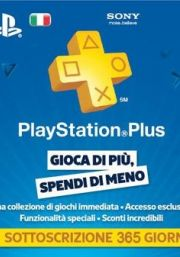 Italia PlayStation Plus 365 päivää