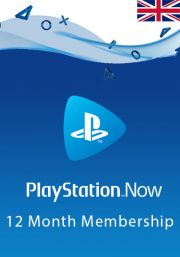 UK PlayStation Now 12 kk