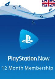 UK PlayStation Now 12 kk