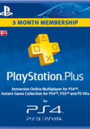 Tanska PlayStation Plus 90 päivää