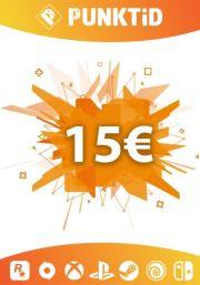 Punktid 15€ Lahjakortti