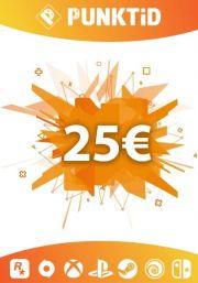 Punktid 25€ Lahjakortti