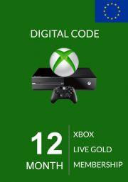 EU Xbox Live Gold 12 kk